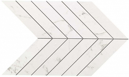 Настенная плитка Marvel Stone Chevron Carrara Pure Wall