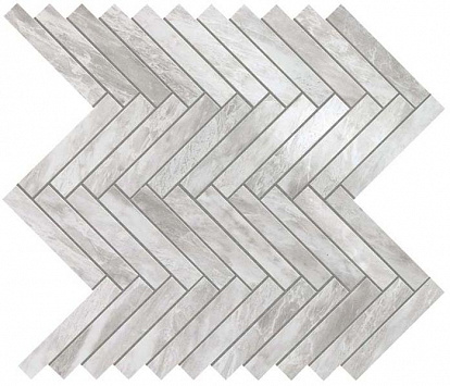 Настенная плитка Marvel Stone Bardiglio Grey Herringbone Wall